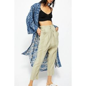Free People Semi Sweet Pants Cropped High Rise S